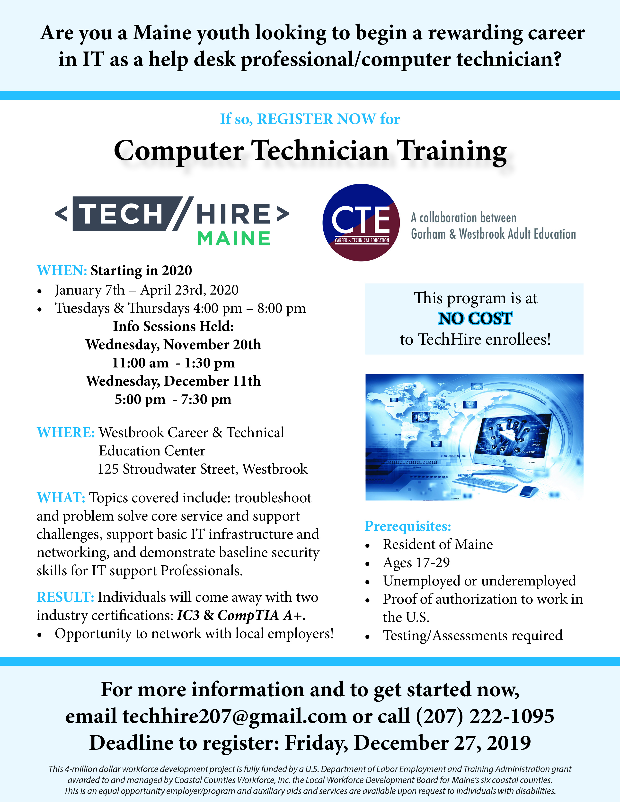 TechHire - Westbrook CTE - 10.31.19